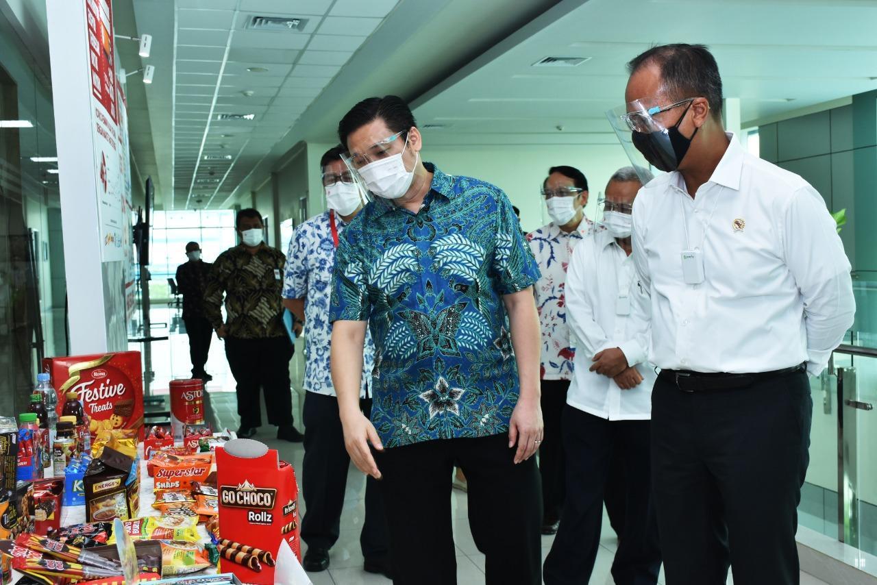 Kunjungan Kerja KEMENPERIN RI ke Pabrik Jayanti Mayora Group